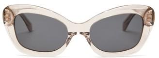 Sun Buddies Elton Acetate Cat-eye Sunglasses - Clear