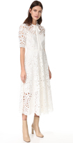 Temperley London Berry Lace Dress