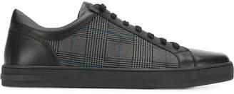 Moreschi checked panel sneakers