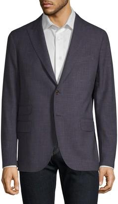 Eleventy Regular-Fit Wool & Silk Jacket