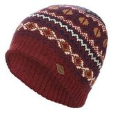 Mantaray Red Fair Isle Beanie Hat