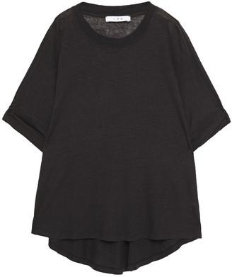 IRO Oversized Slub Linen-jersey T-shirt