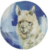 Anthropologie Lauren Carlson Walcott Dessert Plate, Dia.21.6cm, Llama