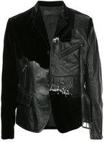 Haider Ackermann Transgressive panelled blazer