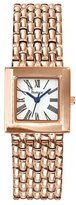 Freelook Women's HA2087RG-9A Phantome Carre Classic Analog Square Crystal Bezel Watch