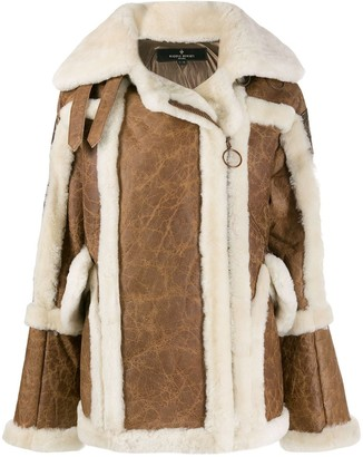 Nicole Benisti textured shearling coat