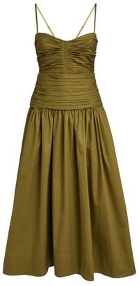 Shona Joy Amaia Ruched Midi Dress