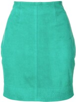 Versace Pre Owned mini fitted skirt