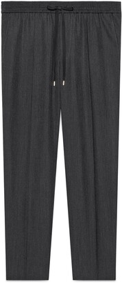 Gucci Tailored wool jogging pant