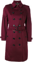 Burberry belted trench coat - women - Cashmere - 8