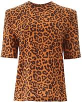 ATTICO The Leopard Print T-shirt