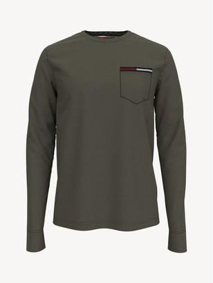 Tommy Hilfiger Essential Long-Sleeve Pocket T-Shirt
