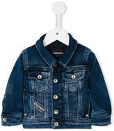 Diesel Jaffy B denim jacket - kids - Cotton/Polyester/Spandex/Elastane - 9 mth