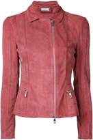 Desa Collection - zipped jacket - women - Suede - 40
