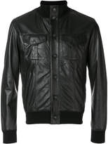 Orciani button-down biker jacket
