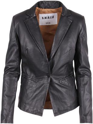 S.W.O.R.D. Leather Blazer
