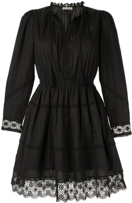 Ulla Johnson Helene crochet-trimmed dress