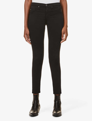 AG Jeans The Legging Ankle skinny mid-rise cotton-blend jeans