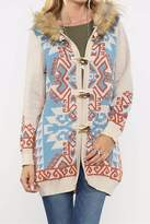 Flying Tomato Navajo Knit Coat