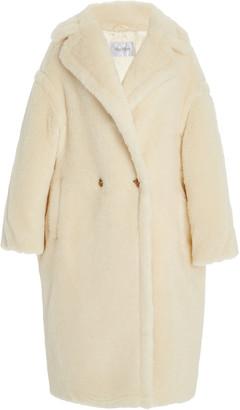 Max Mara Oversized Alpaca-Blend Teddy Coat
