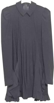 No Name Blue Silk Dress for Women