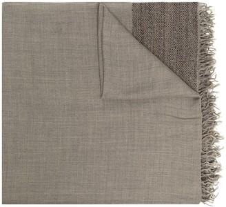 Faliero Sarti Leonor fringed knitted scarf