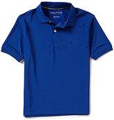 Nautica Big Boys 8-20 Solid Short-Sleeve Polo Shirt