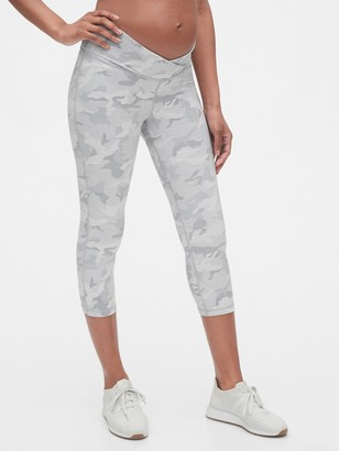 Gap Maternity GapFit Under Belly 7/8 Leggings in Eclipse