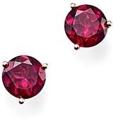Bloomingdale's Rhodolite Garnet Stud Earrings in 14K Rose Gold - 100% Exclusive