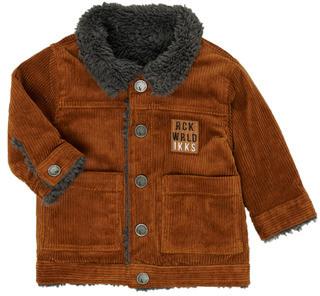 Ikks XR40051 boys's jacket in Brown