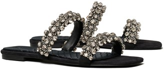 Tory Burch Crystal Slide Sandal