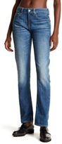 G Star High Waist Straight Leg Jeans