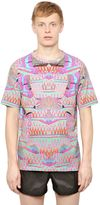 Marcelo Burlon County of Milan Cotton Jersey Exotic Fish T-Shirt