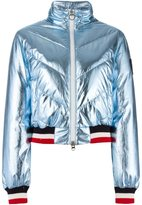 Rossignol contrast trim bomber jacket - women - Feather Down/Polyamide/Polyester - 38