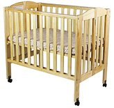 Dream On Me 2 in 1 Portable Folding Stationary Side Crib