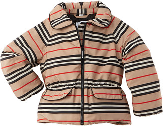 Burberry Icon Stripe Down Jacket