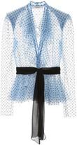 Philosophy di Lorenzo Serafini Lace Blouse With Polka Dots