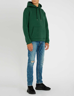 Diesel Tepphar ripped slim-fit tapered jeans