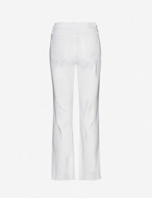 Paige Noella straight-leg high-rise stretch-denim jeans