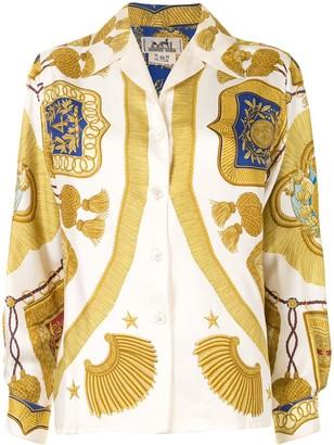 Hermes Pre-Owned Tassel Print Shirt