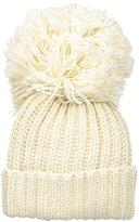 BCBGMAXAZRIA Women's Monster Pom Hat
