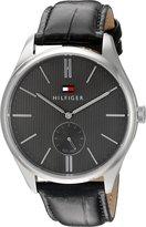 Tommy Hilfiger Men's 1791168 Analog Display Quartz Black Watch