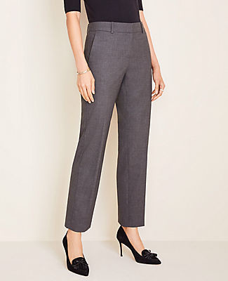 Ann Taylor The Petite Straight Pant in Tropical Wool - Classic Fit