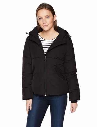 Daily Ritual Amazon Brand Women's Short Water-Resistant Primaloft Puffer Jacket