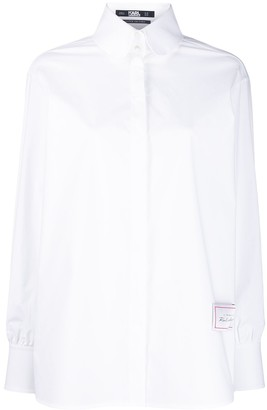 Karl Lagerfeld Paris The Essential White Shirt