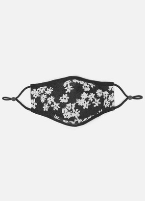 St. John Floral Jacquard Fitted Mask