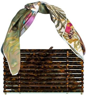 Montunas Tortoiseshell Trellis Guaria Bag