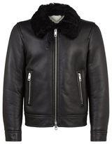 Burberry Ravencroft Shearling Motorcycle Jacket