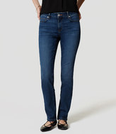 LOFT Tall Curvy Straight Leg Jeans in Medium Faded Wash