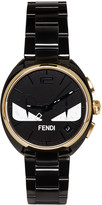 Fendi Black and Gold Momento Bugs Watch
